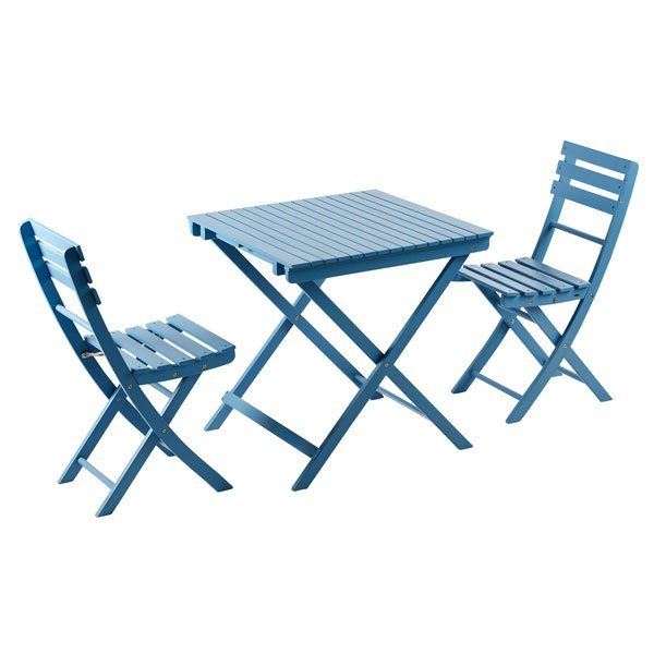 Balcony set 7 (2 chairs + 1 table) BC08-2000