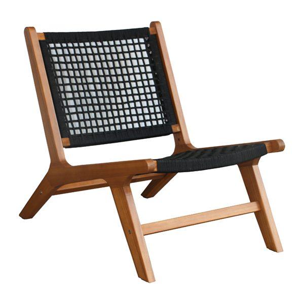 Cali chair without armrest  (K/D) WV02-C2001