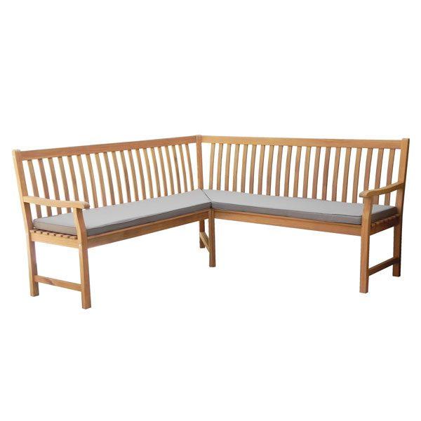 Corner 3 seater bench LV11-3B1000