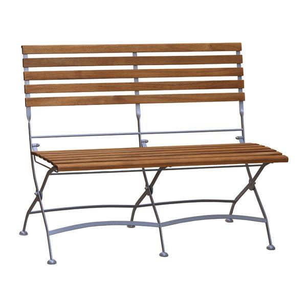 Folding 2 seater bench NI06-2B2300