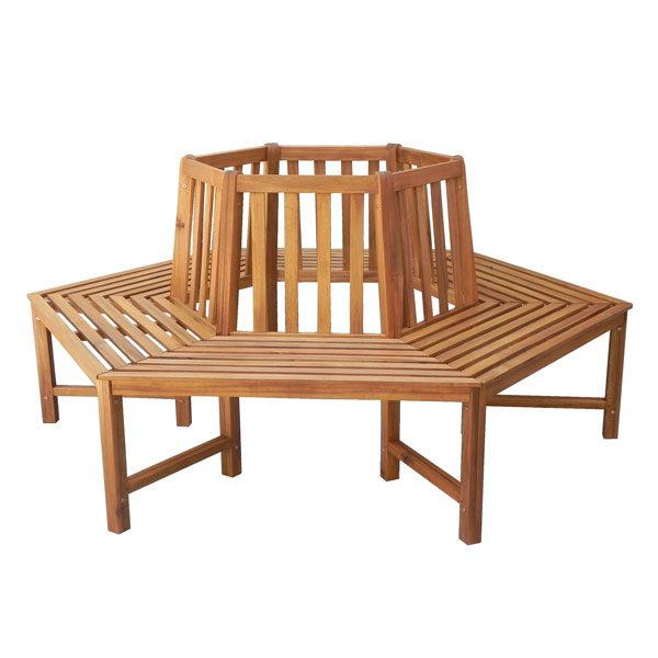 Tree bench 6 seater LV10-6B2000
